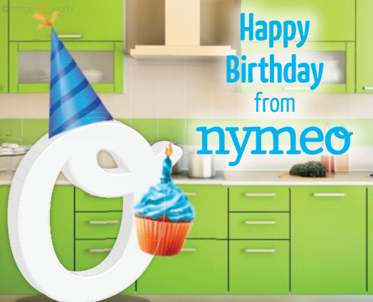 Nymeo Birthday Card